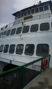 Ferry to Orcas Island