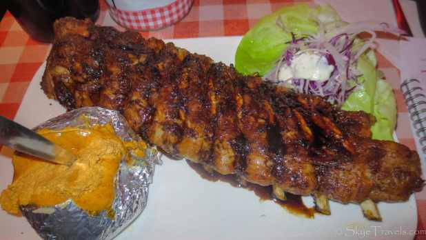 Amadeus All You Can Eat Ribs Meal