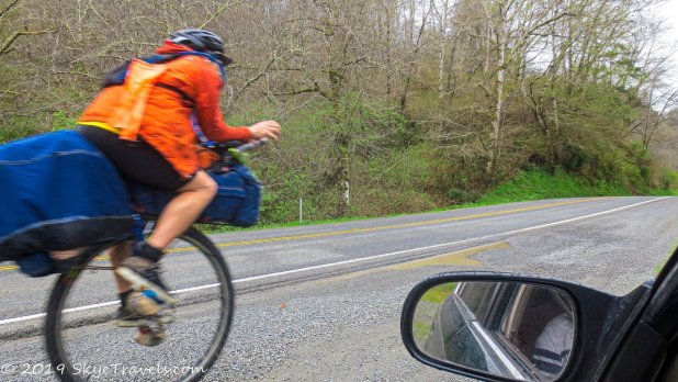 Unicyclist on the PCH #1