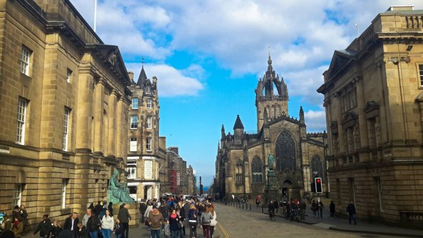 Royal Mile and St Giles Cathedral
