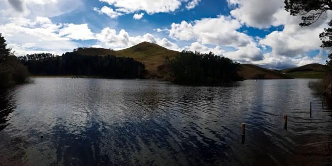 Glencorse Reservoir in the Pentlands