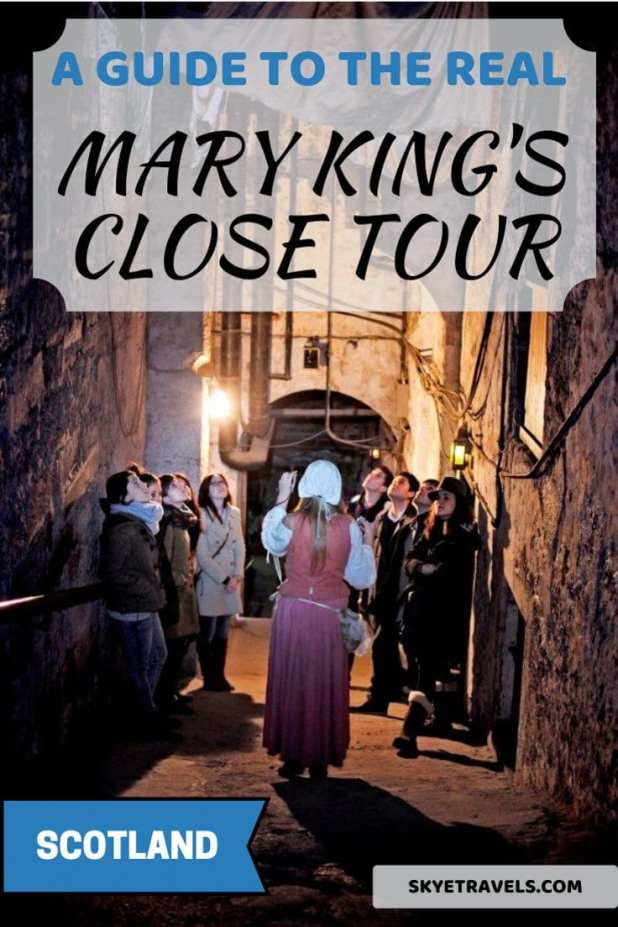 The Real Mary King's Close Tour Pin