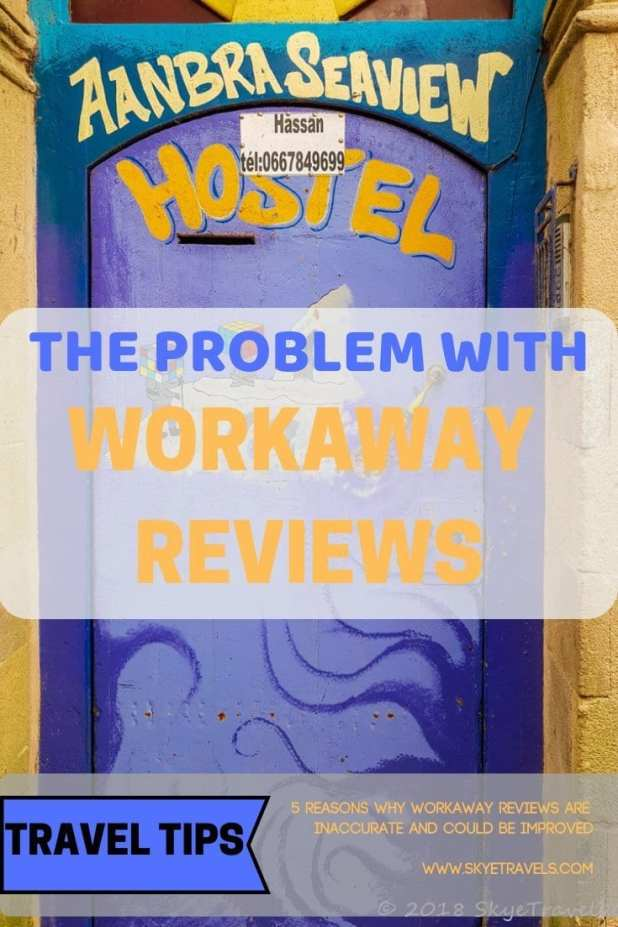 Workaway Reviews Pin