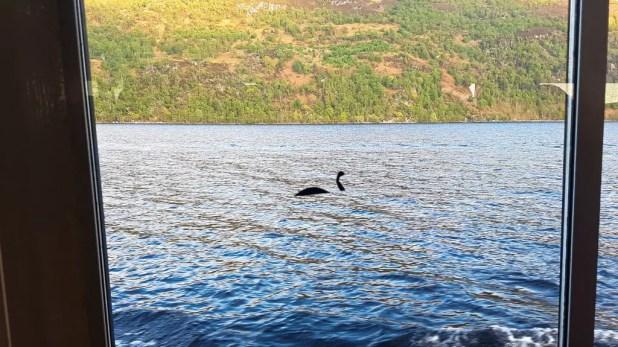 Kelpie on Loch Ness