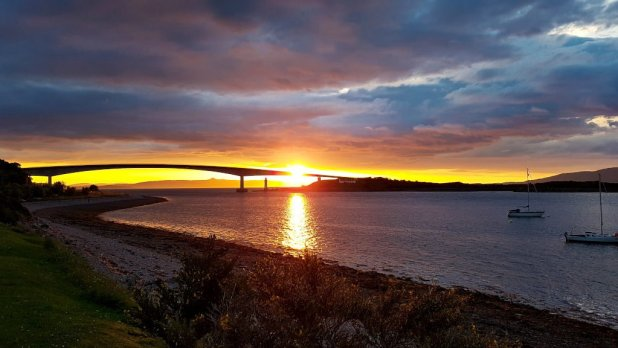 Skye Bridge Sunset