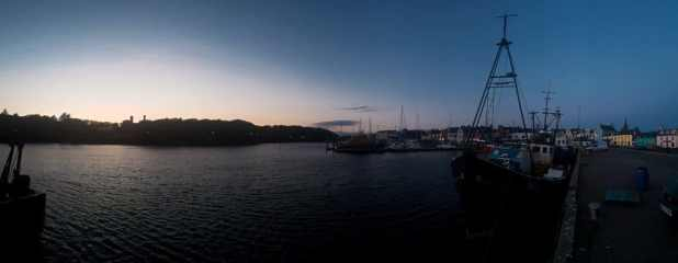 Sunset in Stornoway