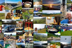 Skye Travels in June Collage