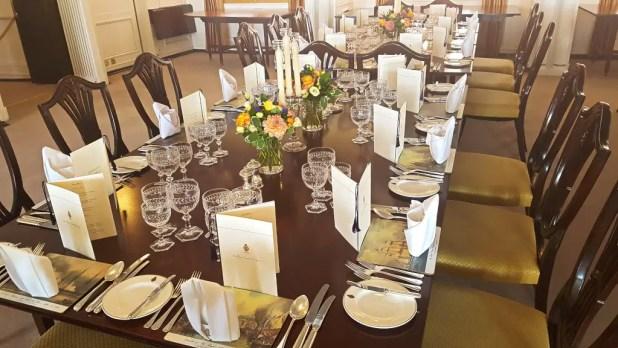 Britannia Banquet Table
