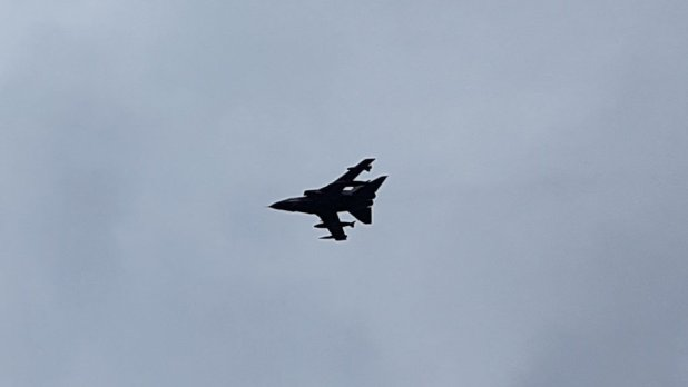 Fighter Jet in Glen Nevis