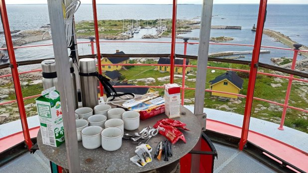 Fika in a Lighthouse