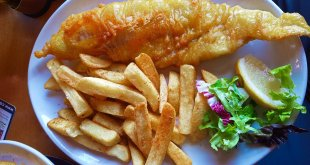 Fish and Chips at Skein Inn (Eat in Edinburgh)