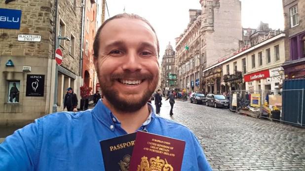 Selfie with British Citizenship