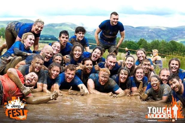 Tough Mudder Team on June 25th