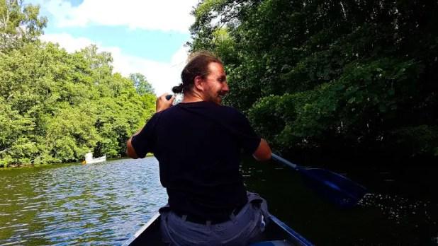 Selfie Canoeing in Copenhagen