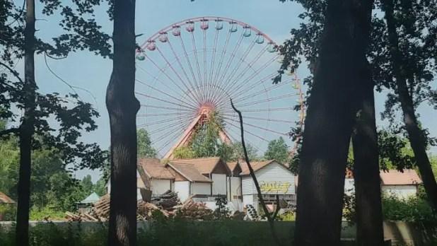 Spreepark Ferris Wheel