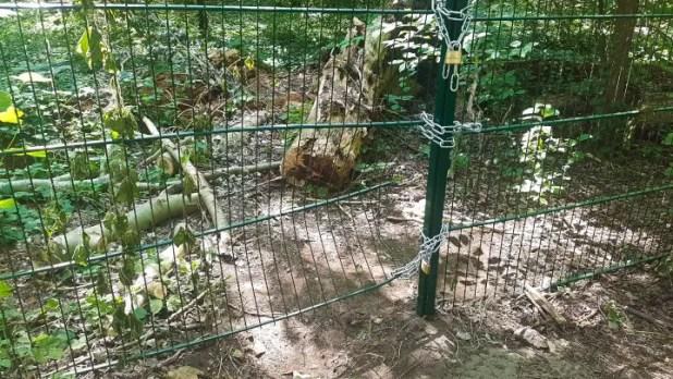 Spreepark Gate Hole