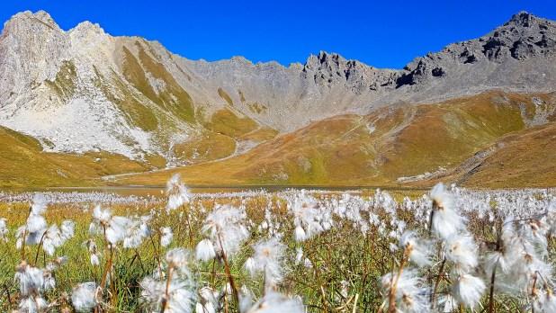 Mountains Behind Tignes