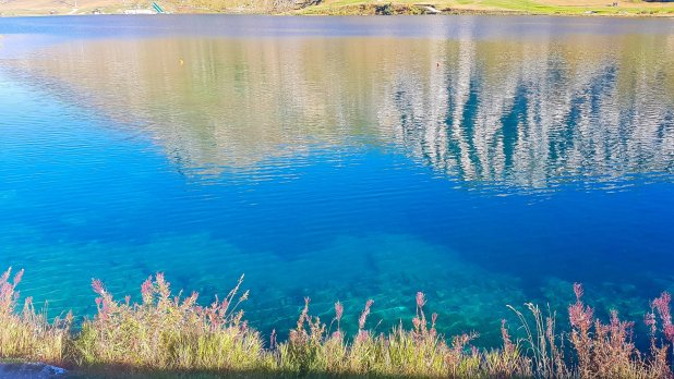 Tignes Lake Reflection