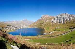 Tignes from the Hill #2
