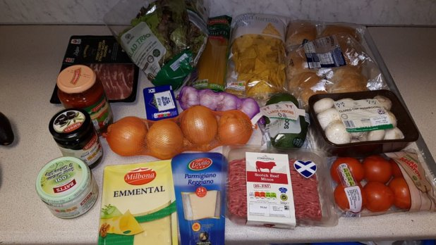 Groceries from Lidl