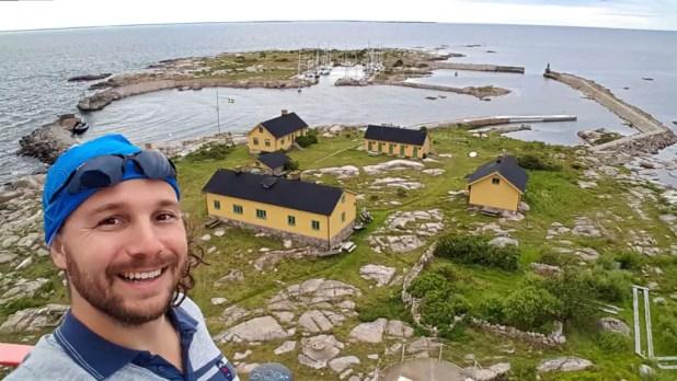 Selfie on Utklippan with Saltstänk.