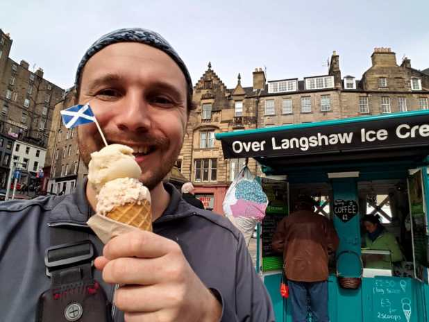 Selfie with Over Langshaw Ice Cream