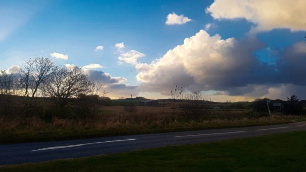 View from Farm in Tyrie