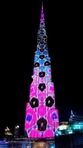 Burj Khalifa Ligh Show #1