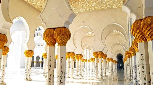 Grand Mosque Columns