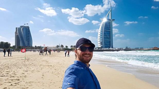 Selfie at Burj Al Arab