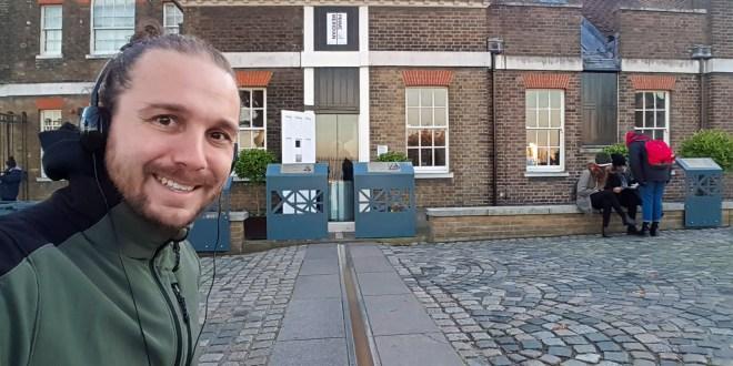 Selfie at the Prime Meridian in Greenwich