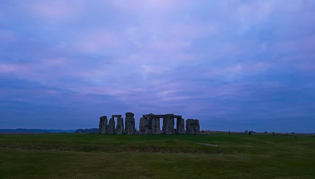Stonehenge from the Bridge