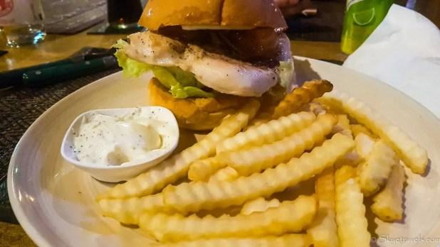 Burger Dinner on Koh Chang
