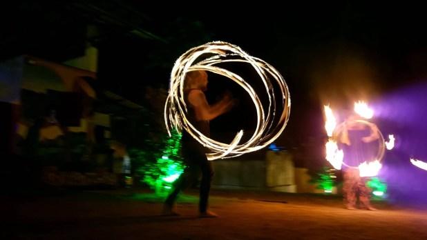 Fire Show Circus Hostel