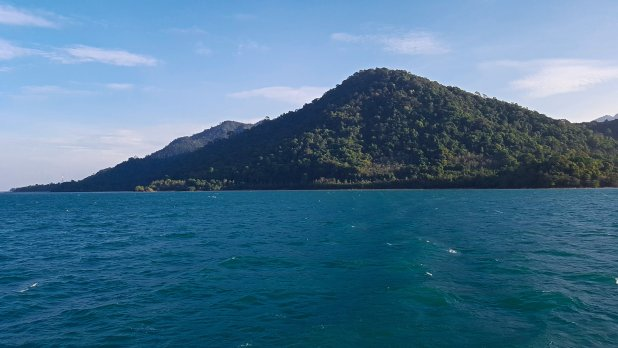 Koh Chang from Ferry