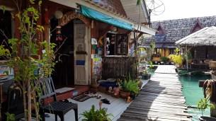 Ocean Blue Guesthouse Entrance