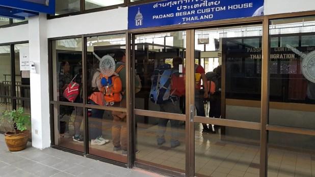 Padang Besar Immigration