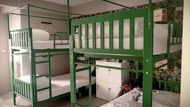 Room at Habitat Hostel