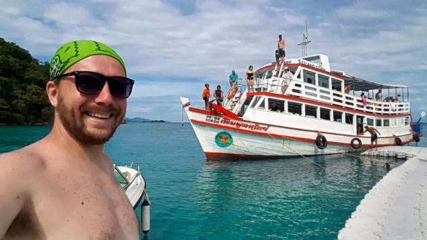 Selfie with Bang Bao Boat Tour