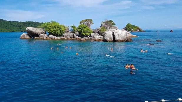 Snorkeling in Ko Chang