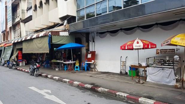 Songthaew Pick-Up Spot in Hat Yai