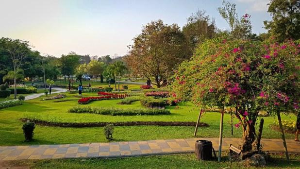 Sankhanpang Hot Springs Gardens