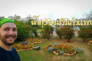 Selfie at Sankhampang Hot Springs near Chiang Mai