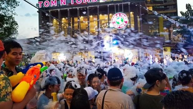 Songkran Foam Party