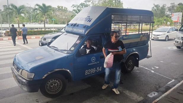 Tuk Tuk to Hat Yai Airport
