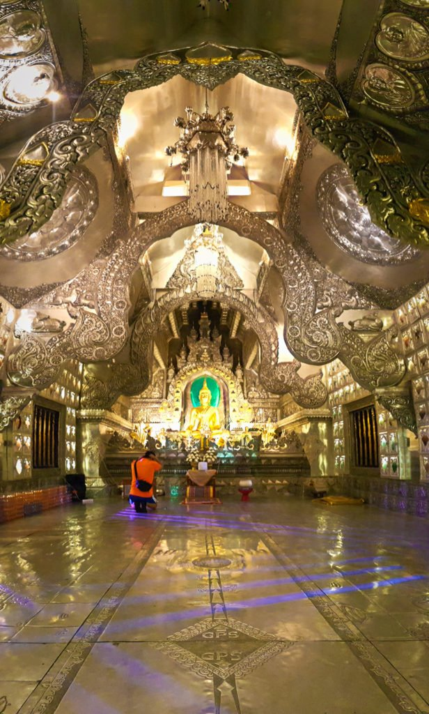 Wat Srisuphan Ordination Temple Interior