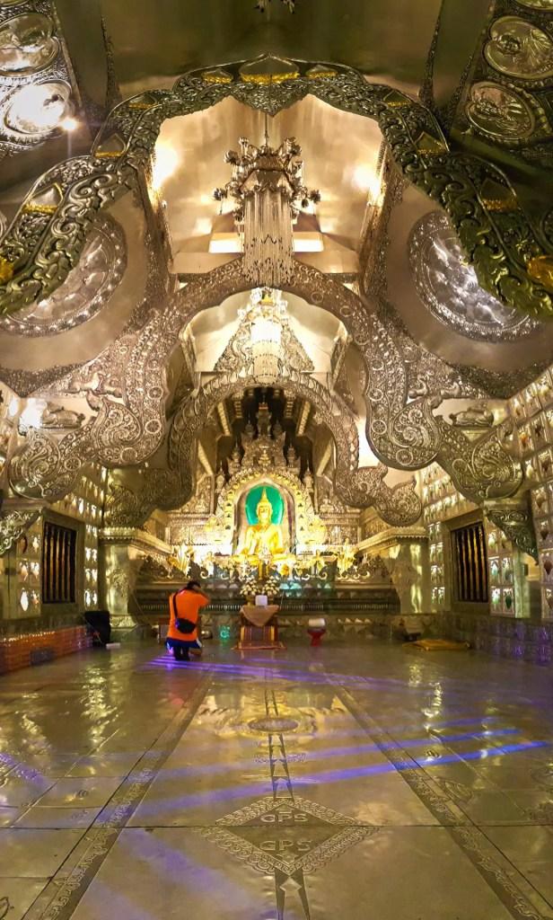 Wat Srisuphan Ordination Temple Interior