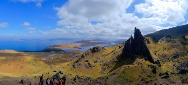 Old Man of Storr Panorama