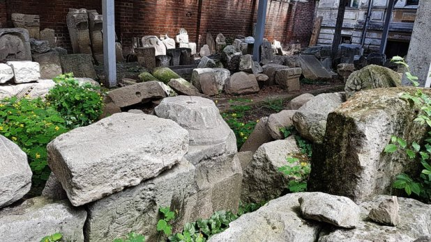Ruins at Macca House