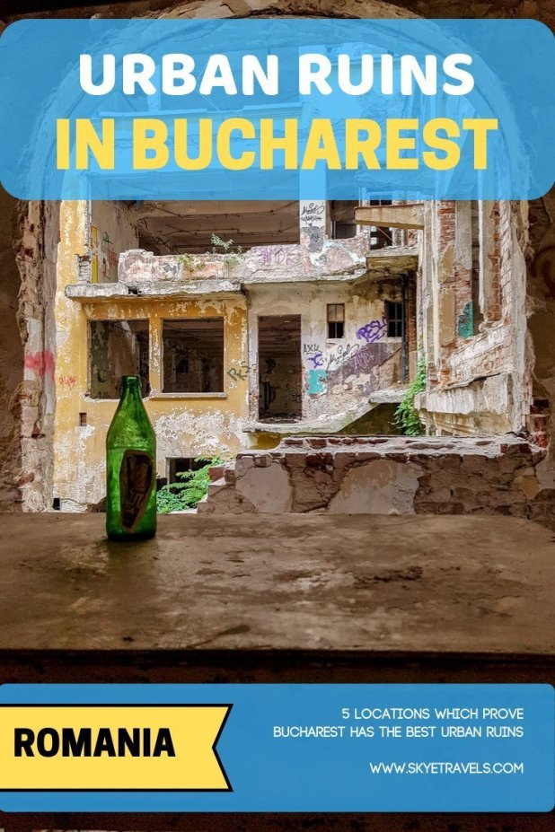 Urban Ruins in Bucharest Pin